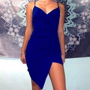 Royal blue Windsor cocktail dress